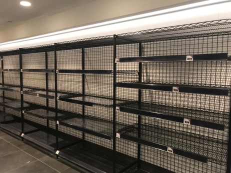 Supermercato a hongkong a febbraio