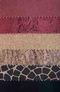 4. tessuto in sughero